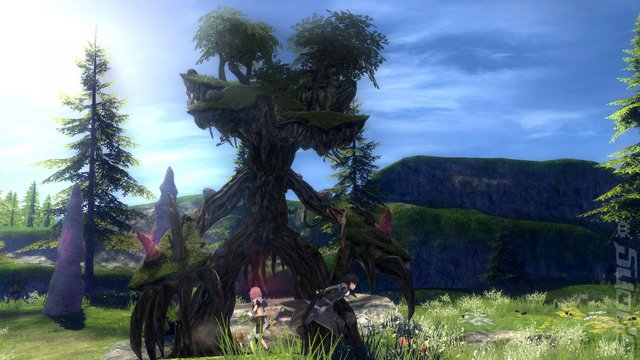 Sword Art Online: Hollow Realization - Switch Screen