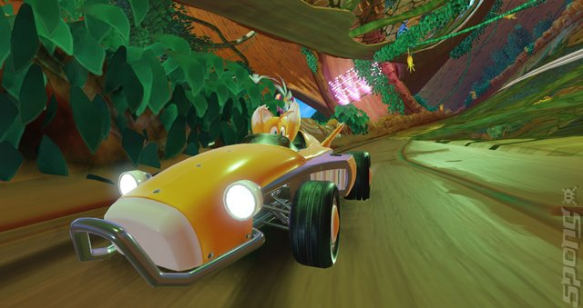 Team Sonic Racing - Switch Screen