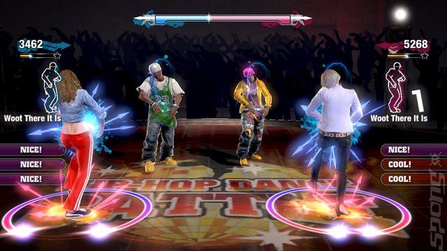 The Hip Hop Dance Experience - Xbox 360 Screen