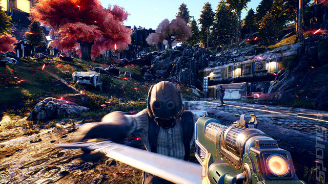 The Outer Worlds - PC Screen