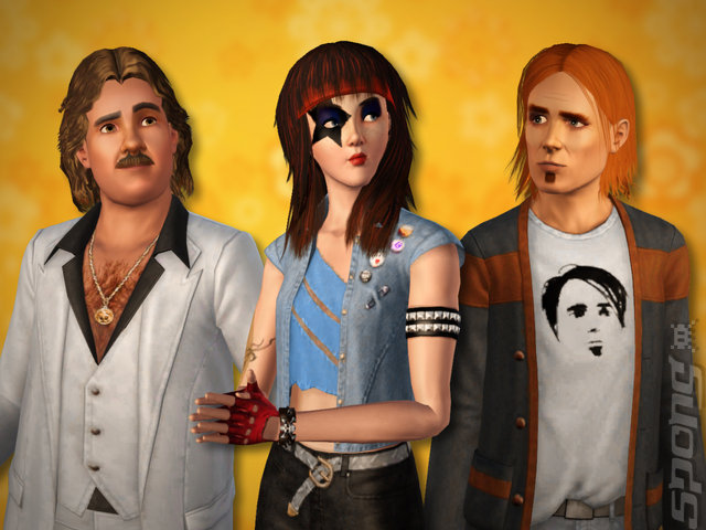 Screens: The Sims 3: 70s, 80s, & 90s Stuff Pack - Mac (1 of 6)
