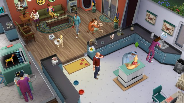 The Sims 4 Cats & Dogs - PC Screen