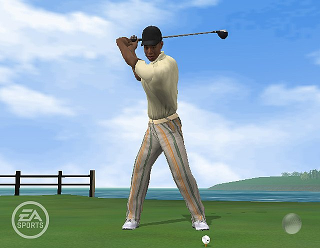 Tiger Woods PGA Tour 06 - Xbox Screen