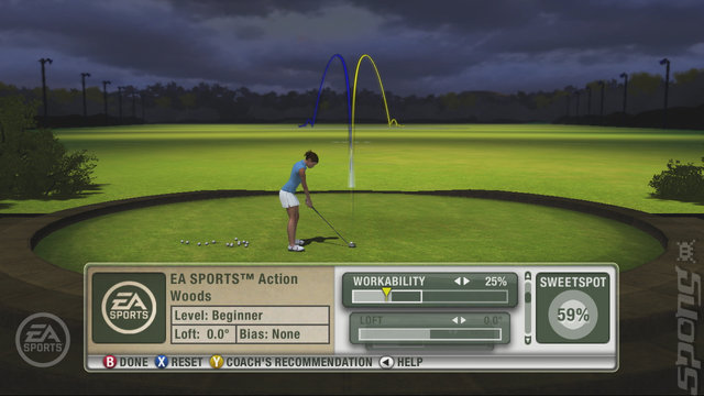 Tiger Woods PGA Tour 09 - Xbox 360 Screen