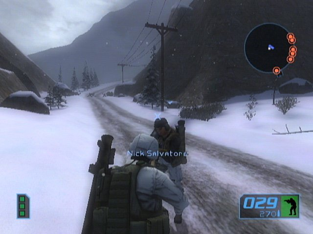Tom Clancy's Ghost Recon 2: Summit Strike - Xbox Screen