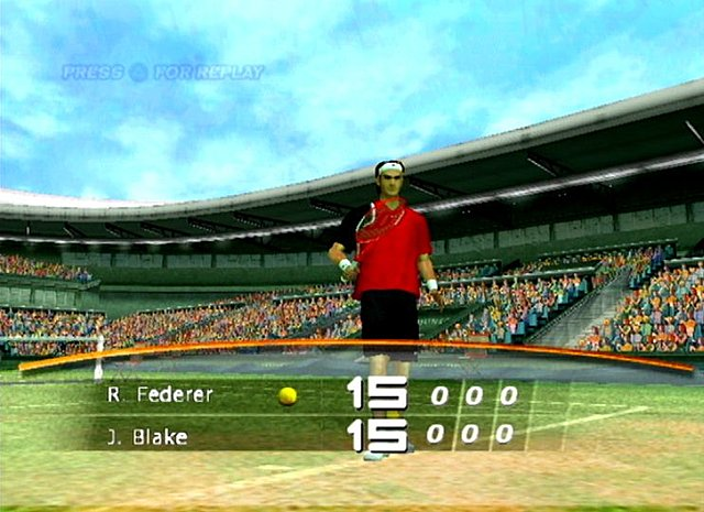 Top Spin  - PS2 Screen