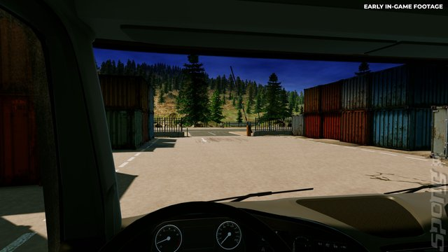 Truck Driver - Xbox One Screen