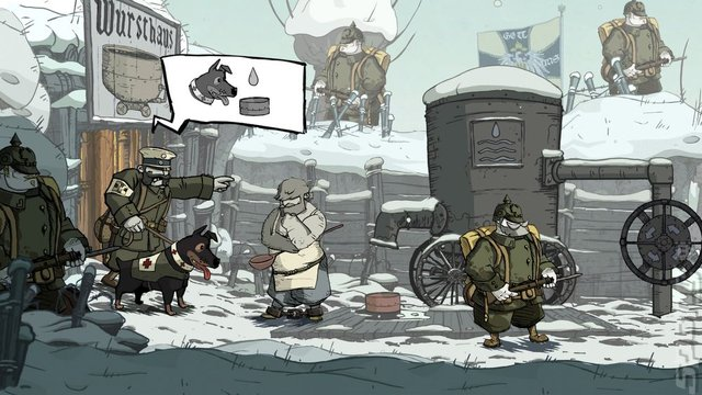 Valiant Hearts: the Great War - PC Screen