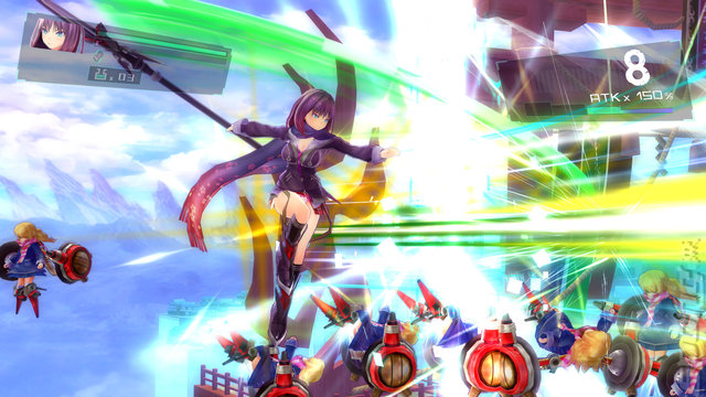 Valkyrie Drive: Bhikkhuni - PC Screen