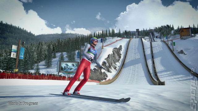 Vancouver 2010: The Official Video Game of the Olympic Winter Games - Xbox 360 Screen