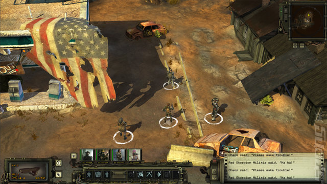 Wasteland 2 - Switch Screen