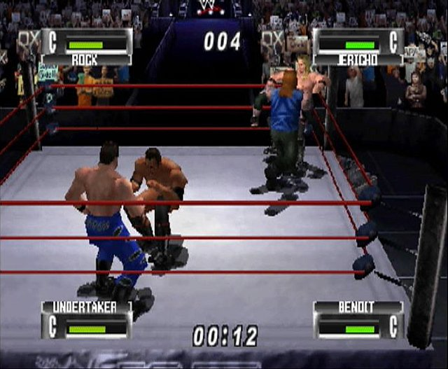 WWF No Mercy - N64 Screen