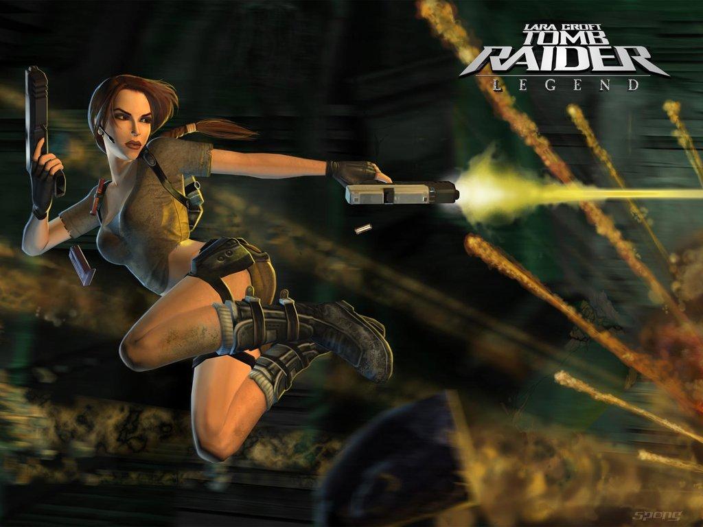 Wallpapers Lara Croft Tomb Raider Legend Ps2 4 Of 4