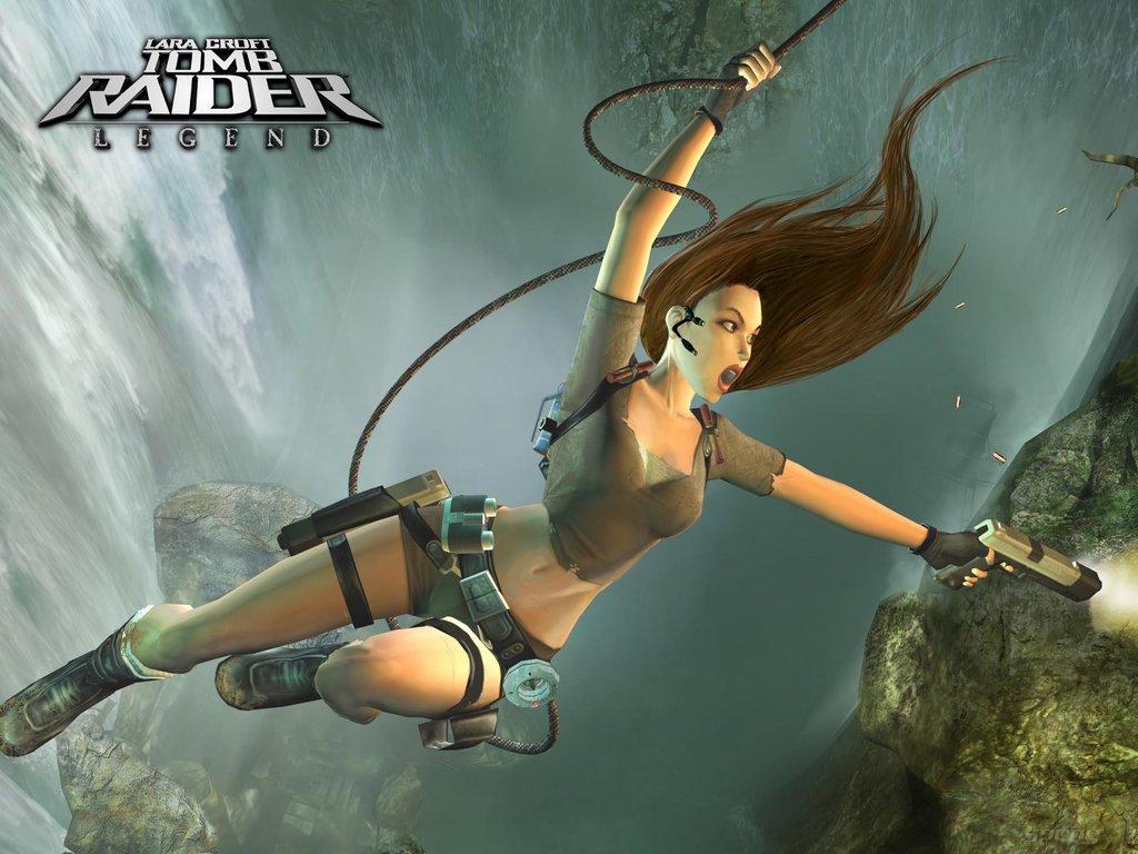 Lara Croft Tomb Raider: Legend - Xbox 360 Wallpaper