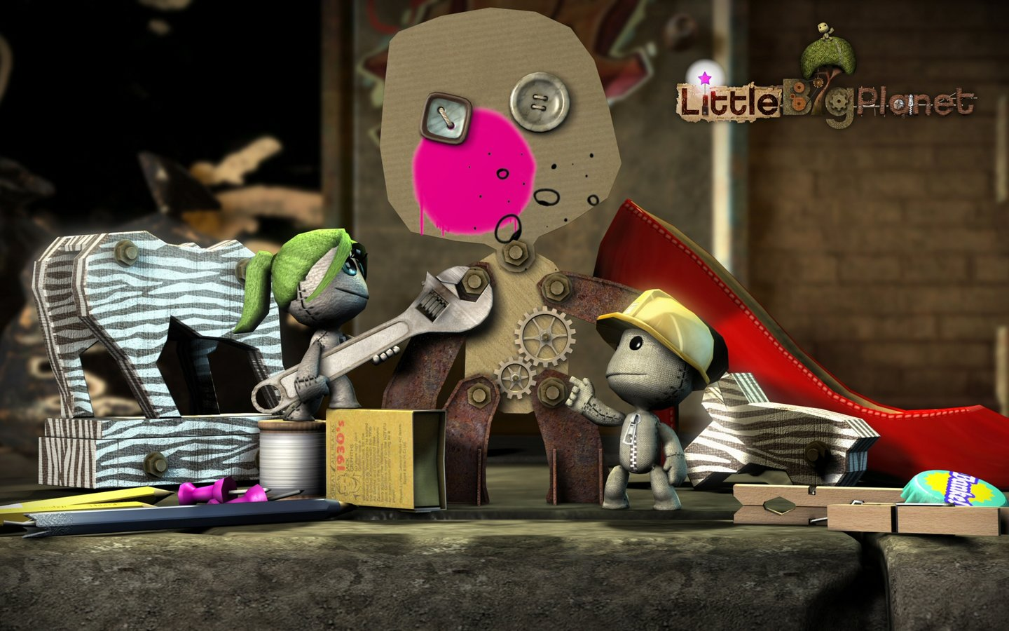 LittleBigPlanet - PS3 Wallpaper