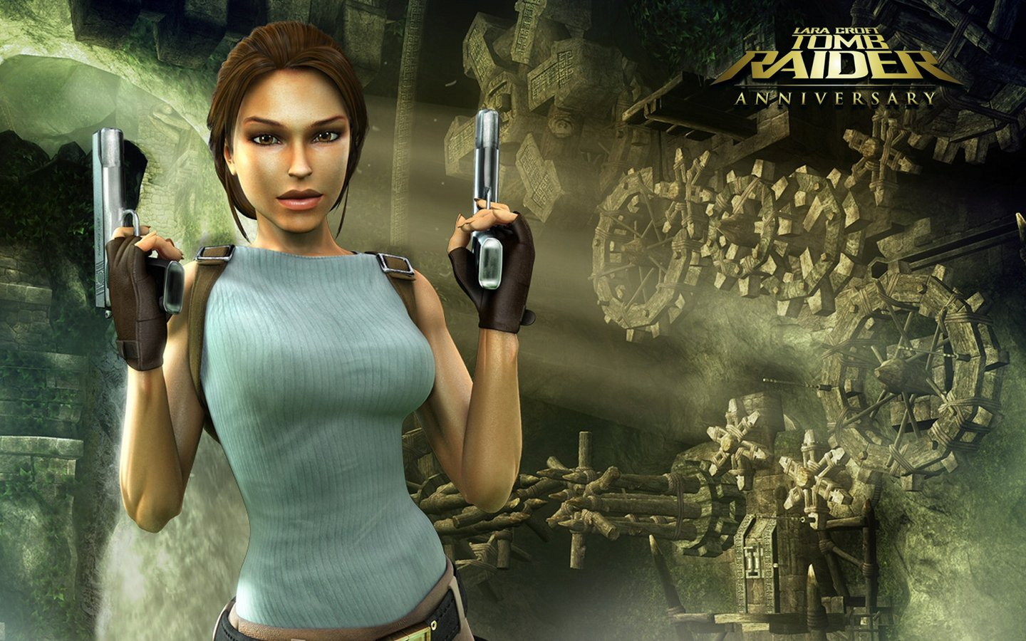 Tomb Raider  Anniversary - Xbox 360 WallpaperTomb Raider Anniversary Wallpaper